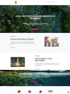 estructura y diseño grafico web
